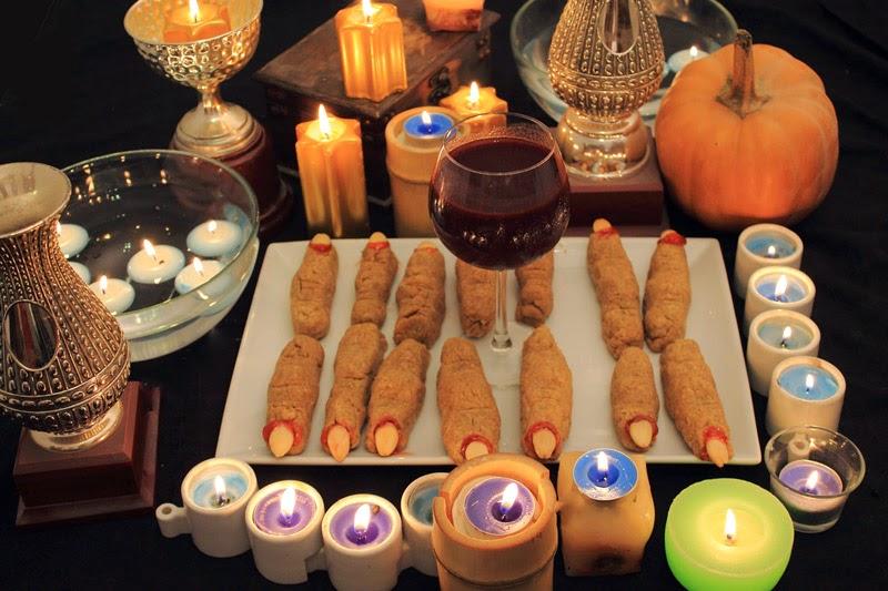 CON VIDEO. COCINA FÁIL Y SANA. Receta saludable de Dedos de bruja para Halloween, día de muertos, baja en calorías y colesterol, apta para diabéticos (sin azúcar) y veganos.