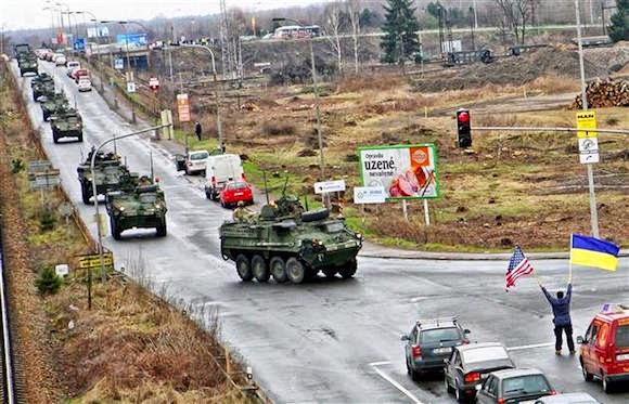 Войска сша вошли в польшу us troops entered