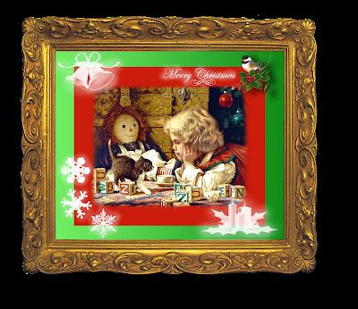 navidad vintage en inglés