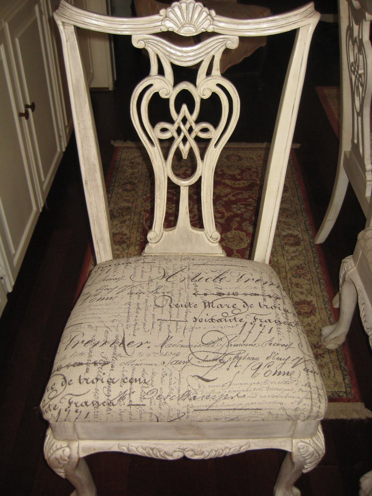 Dining Chair Upholstery Project COZY HOME INTERIORS