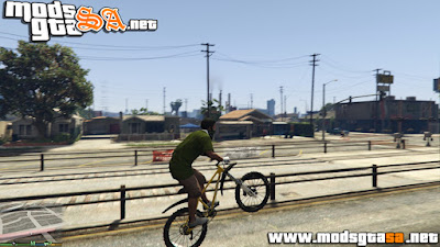 V - Mod Mountain Bike para GTA V PC