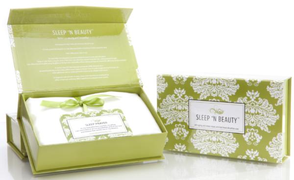 Découvrez la taie doreiller en soie SleepnBeauty by Climsom