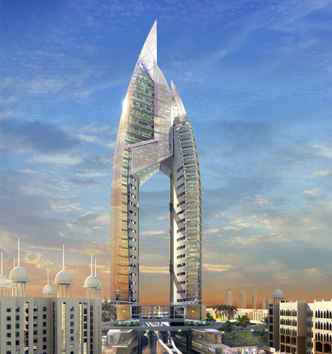 Famous buildings of the world trump international hotel for Dubai world famous hotel