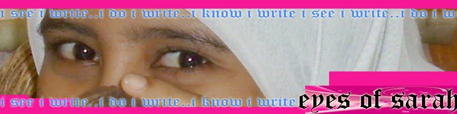 eyes of sarah