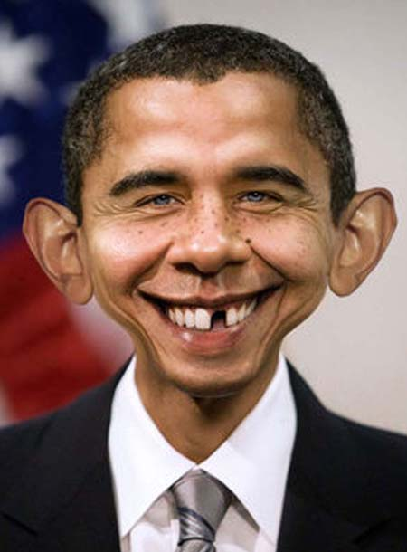 Barack Obama Funny Avatar Photo