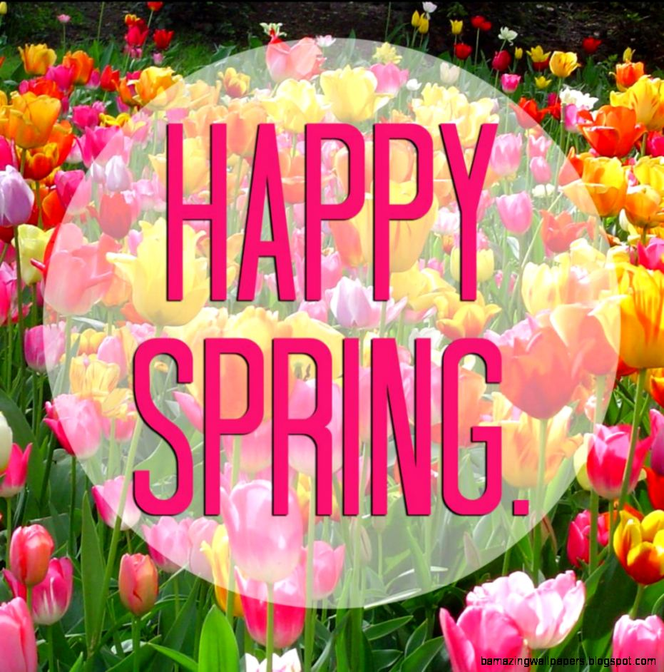 Happy Spring First Day