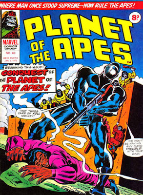 Marvel UK, Planet of the Apes #63, Conquest