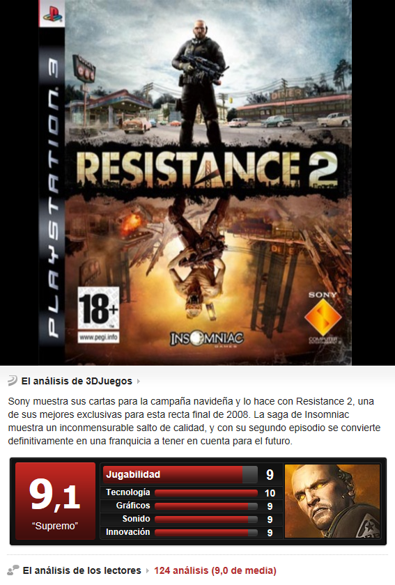 Resistance 2 [Multi][3.55][PS3]