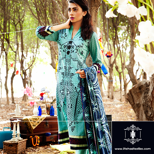 House of Ittehad Eid Dress Collection 2014