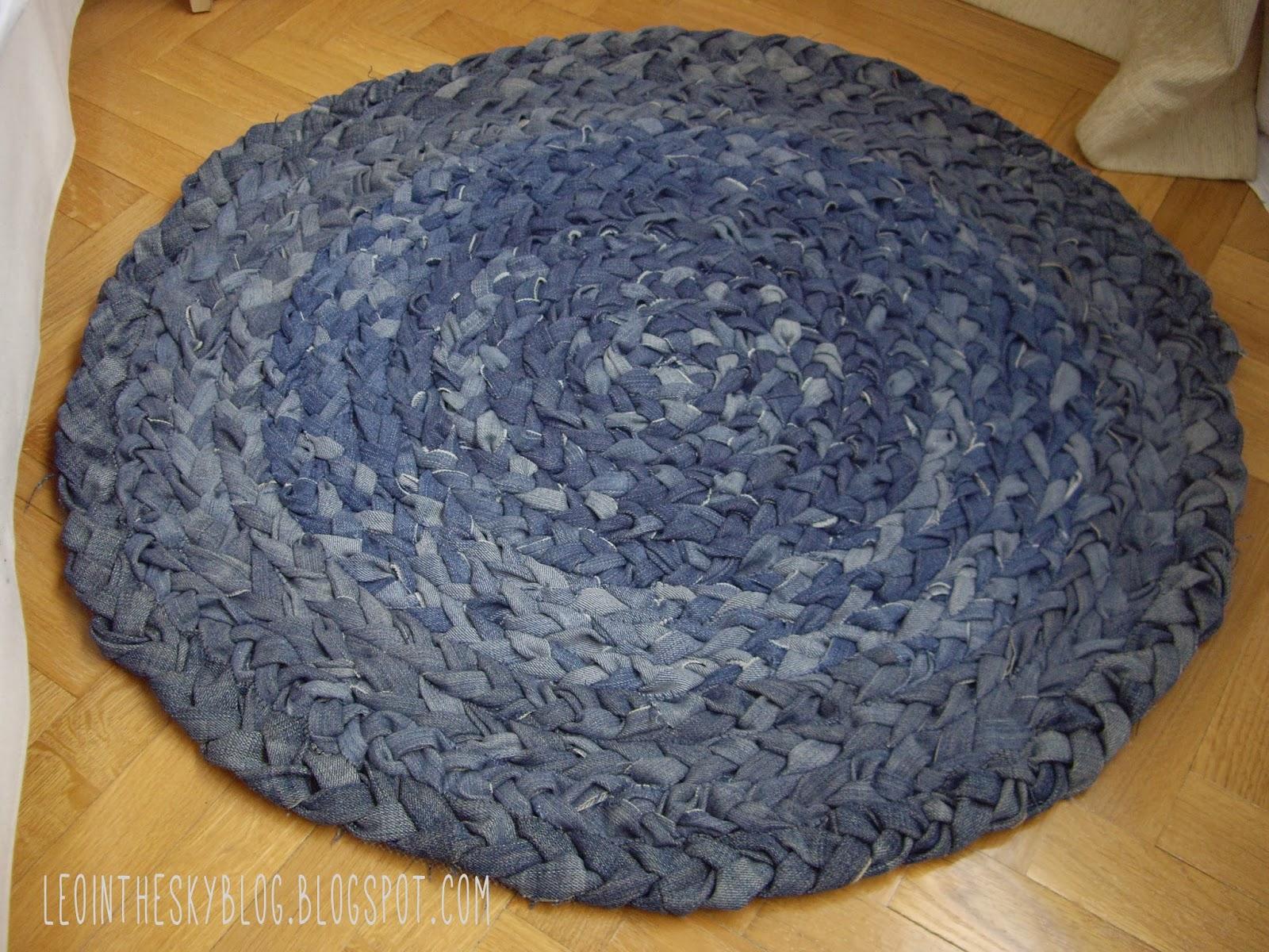 Como hacer una alfombras tejida alfombra quot penty quot for Como hacer alfombras a mano