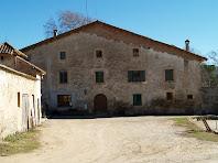 La façana de ponent de La Riera