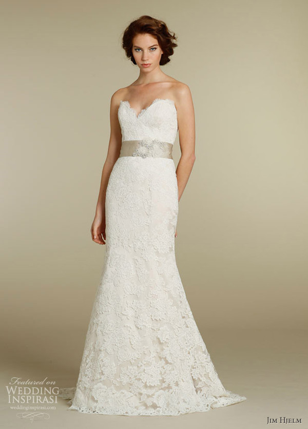 Honey buy jim hjelm 2013 wedding dresses for Jim hjelm wedding dresses