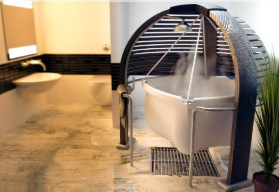 Drawing Inspiration From Childbirth And The Calmness And Security Within  The Womb, British Designer Ben Mazur Has Come Up With A Unique Bathtub  Called U201c ...
