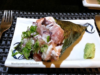 JoJo Sushi & Frutos do Mar: Temaki Turbinado