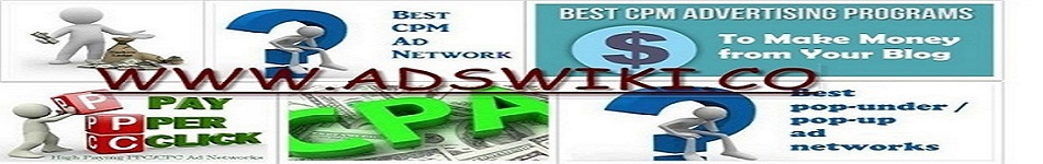 Adswiki - Online Advertising networks review's,rates,payment proof