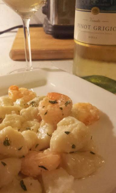 gnocchi-Shrimp-Scampi