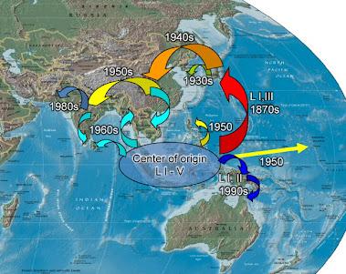 Pergerakan Penghijrahan Penduduk di Nusantara sebelum Abad ke 16