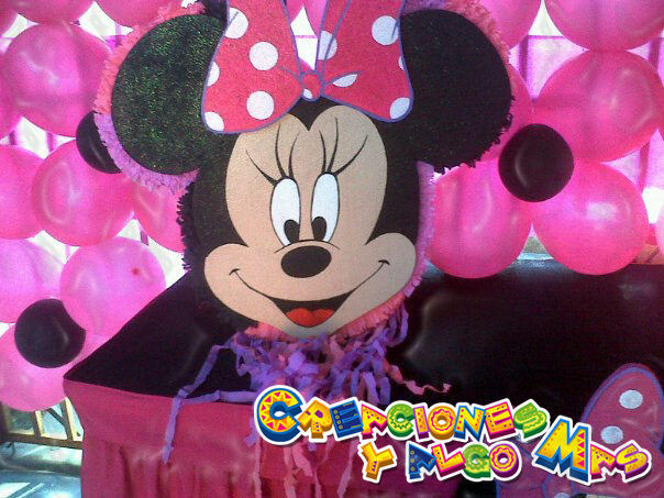 Creaciones y Algo Mas: FIESTA MOTIVO MINNIE MOUSE - MINNIE MOUSE PARTY