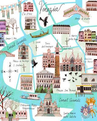 Ilustración venecia Josie Portillo
