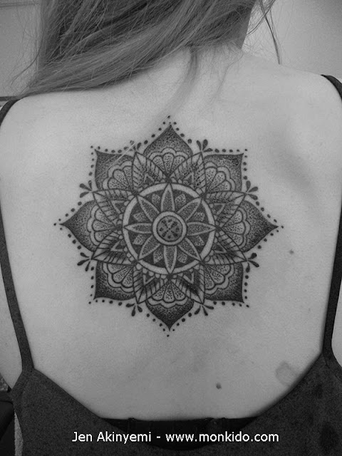 Mandala Back Piece