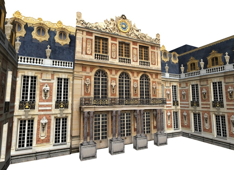 Versailles en 3d a y est kangarooz 3d - Chateau de versailles gratuit ...