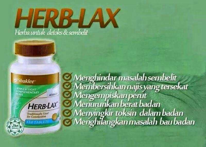 Khasiat herblax Shaklee Untuk mereka yang ingin kuruskan badan