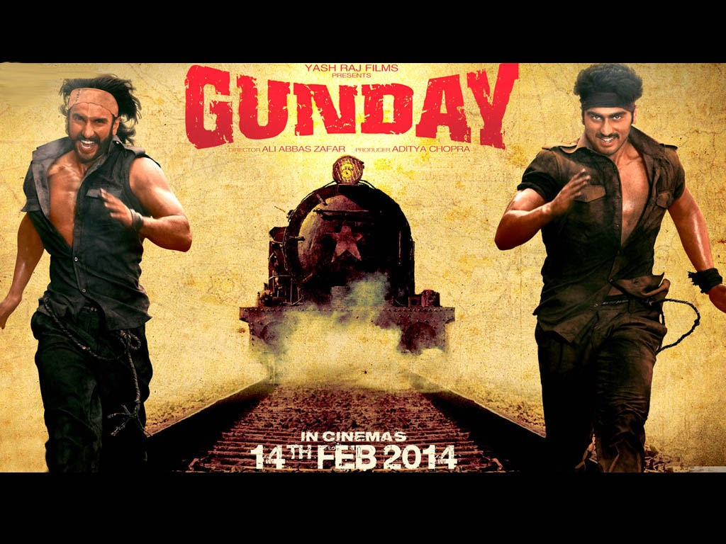 poster movie gunday