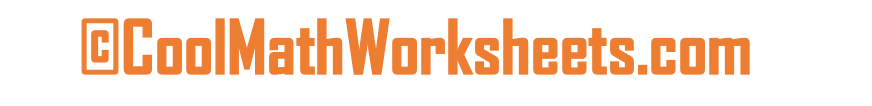 Cool Math Worksheets