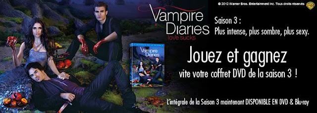 40 coffrets DVD de la série Vampire Diaries saison 3