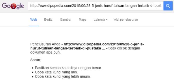 Dipopedia-HasilPenelusuranGoogleCariTerhadapPostingTertentu.png