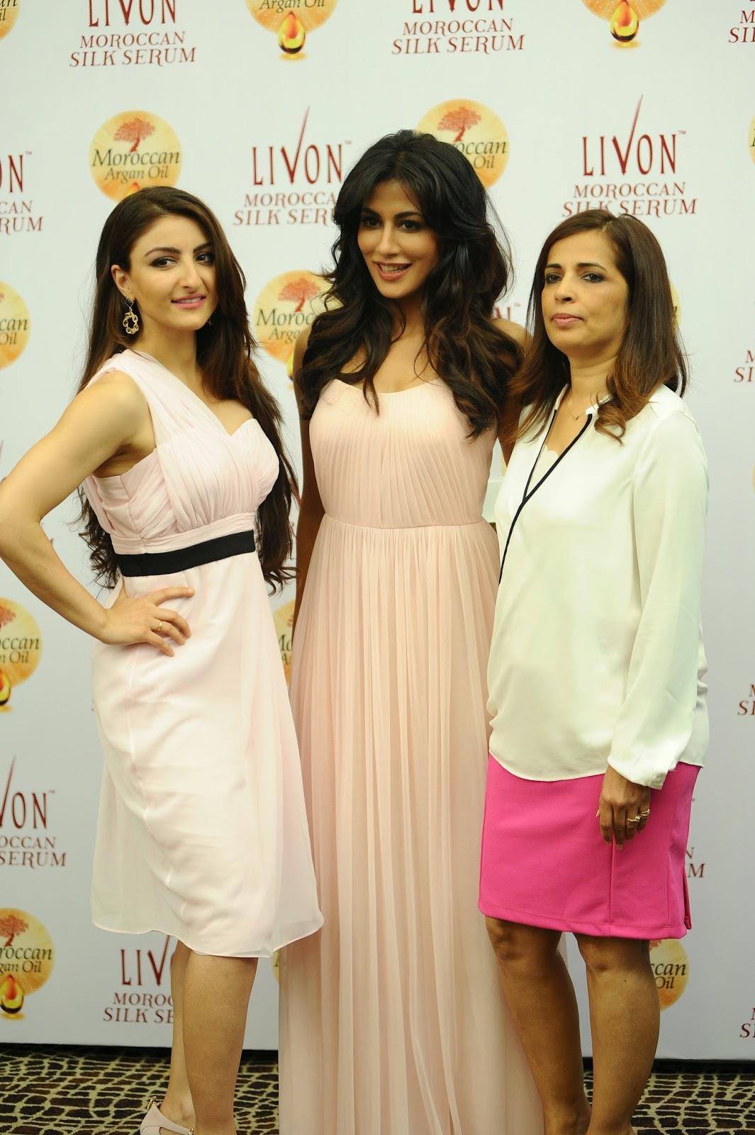 Livon Moroccan Silk Serum - Launch By Chitrangda Singh and Soha Ali Khan