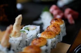 Sushi roll from Sushi Roku, Las Vegas