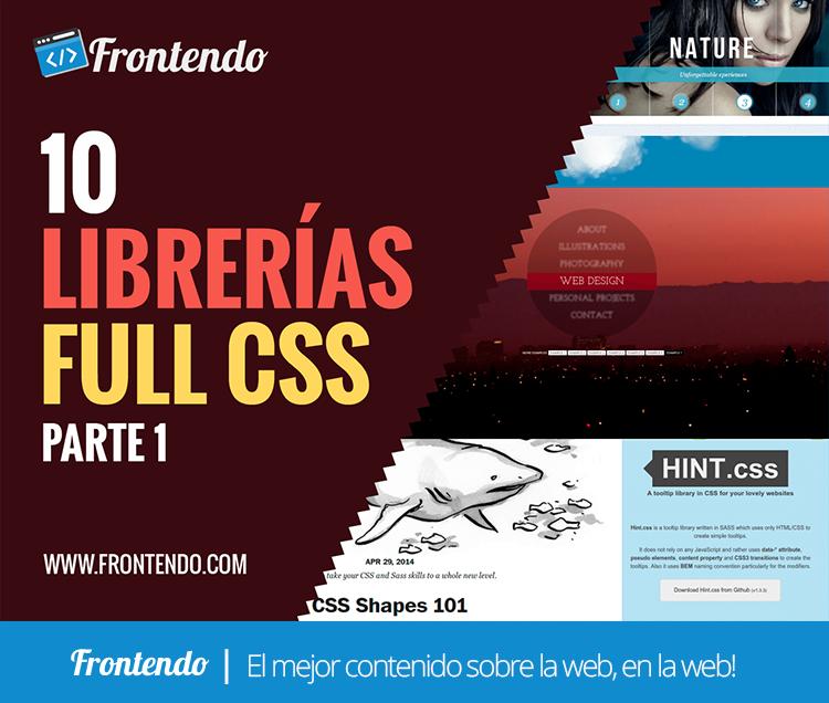 Librerias Full CSS