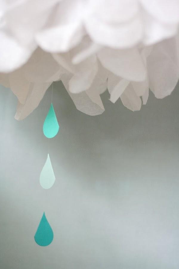 Una baby shower lluviosa, ¿qué os parece?