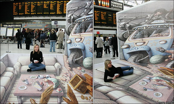 3D Optical Illusions Pictures and Mind Games
