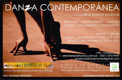 TALLERES danza contemporánea - Ariana Andreoli