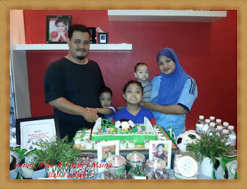 Imran 1'st, Irfan's 4th & Syafiqah's 7th B'day