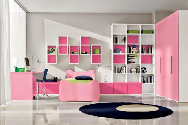 cool pink girls bedroom designs from doimo city line somania