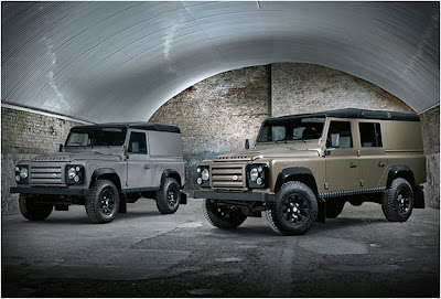 land rover defender concept x tech - xtech tuning
