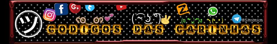 Codigos Das Carinhas ( ͡~ ͜ʖ ͡°) Simbolos Letras Emoji