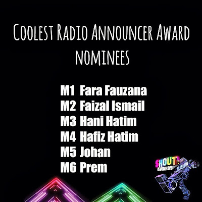 The Shout! Awards 2013 -  - Coolest Radio Announcer Award Nominees