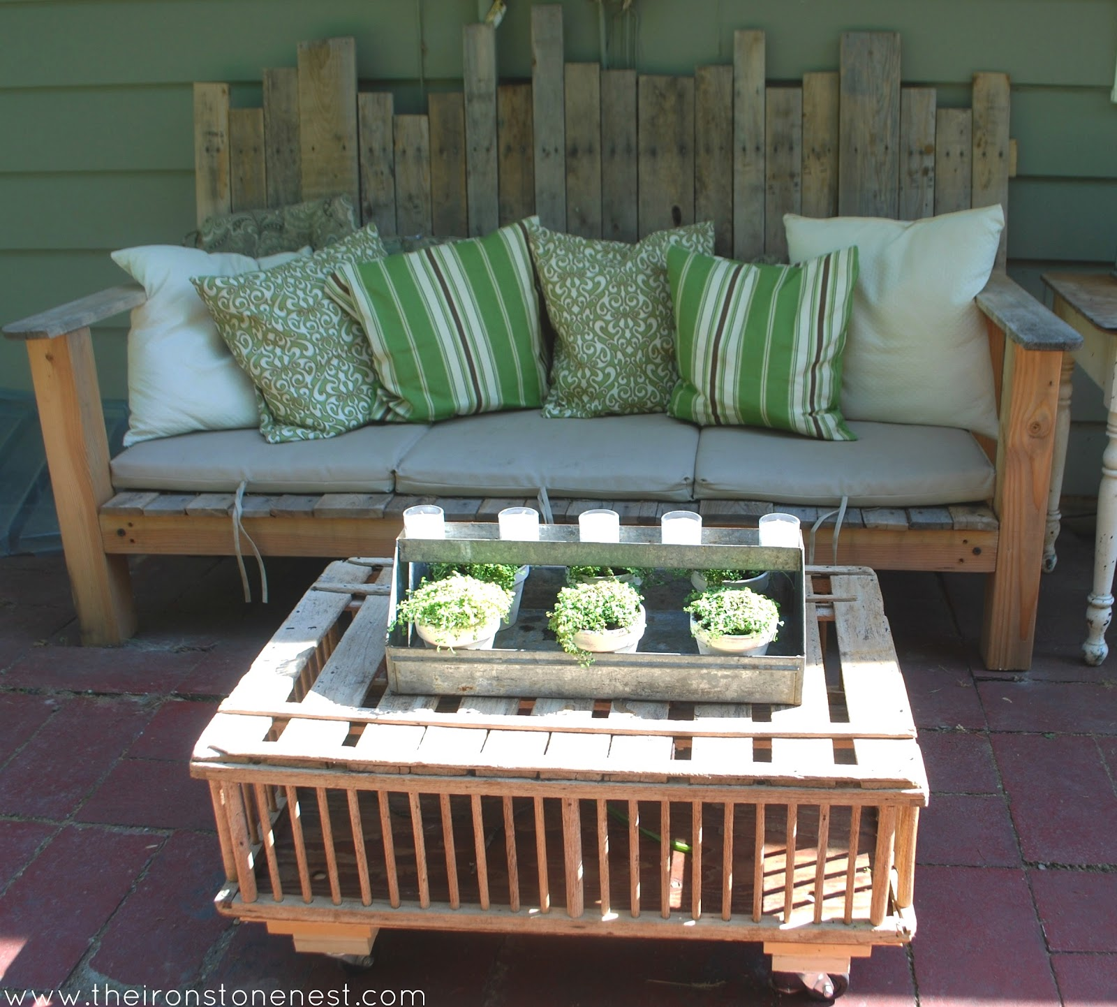 Chicken Crate Coffee Table