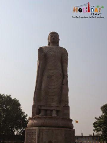 Statue of Standing Buddha at Sarnath