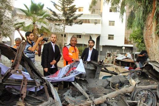 Gaza 3 anggota misi kemanusiaan Malaysia selamat