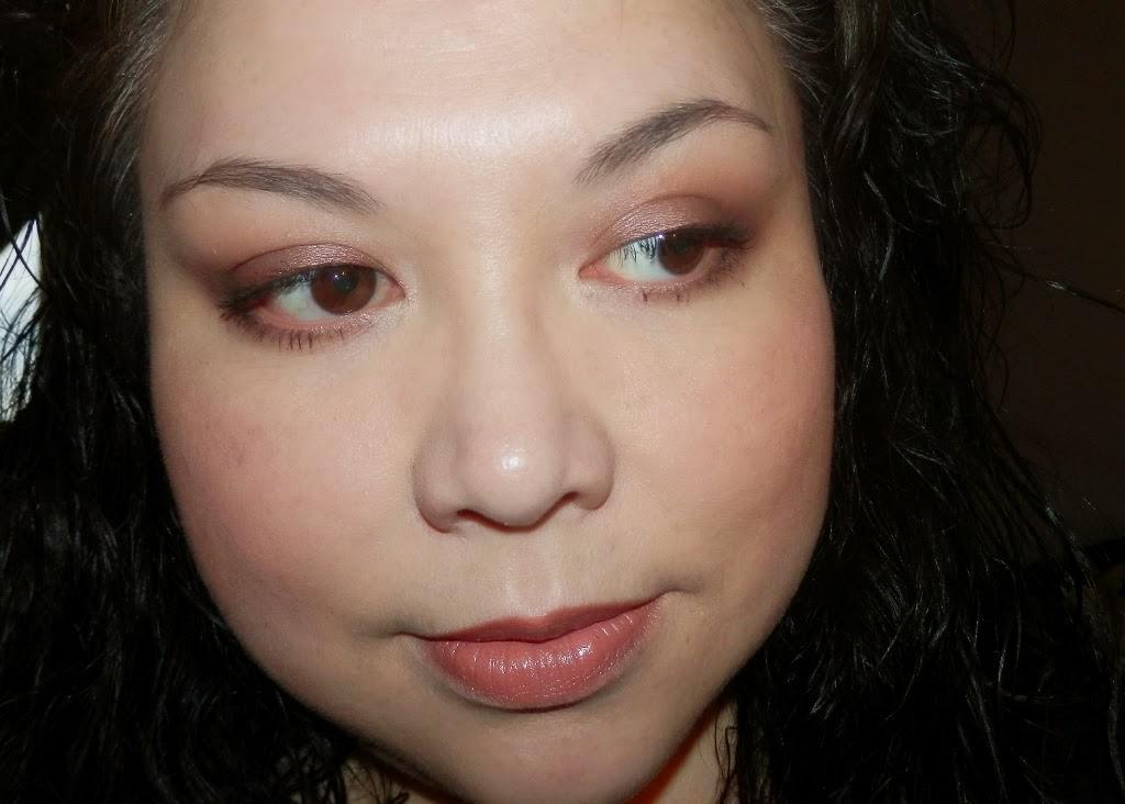 FOTD using Pure+simple Soleil blush