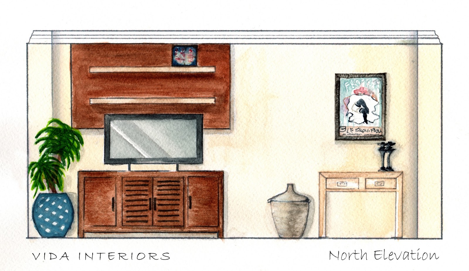 Vida 39 s think tank floor plan renderings designed for a tv pilot - Tv show small spaces design ...
