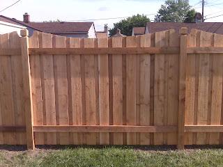 Деревянный забор. Фото 32