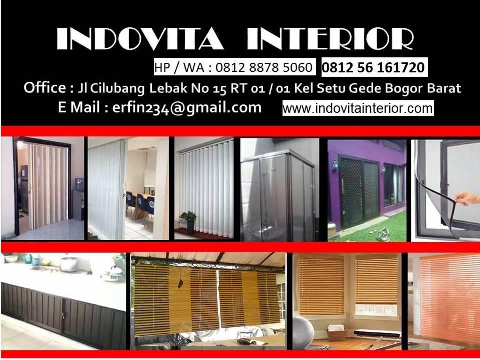 INDOVITA 081256161720 -Bogor-Jakarta-Tangerang-Bekasi-Depok-Banten-Cikarang,Folding Door-Kasa Nyamuk
