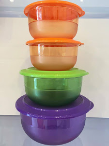 Tupperware Bowl Set-RM158 only!