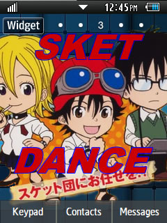 Anime Sket Dance Samsung Corby 2 Theme Wallpaper